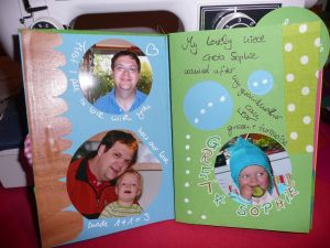Scrapbook page from rva-spring-online-class